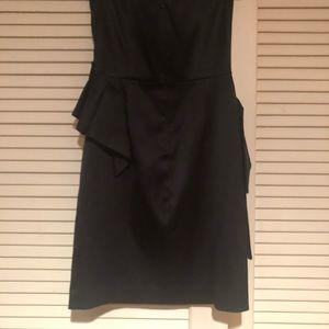 BCBG strapless silk dress